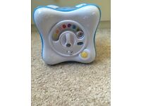 Blue Chicco baby projector