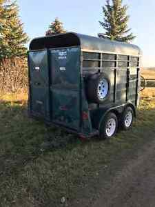 horse or cattle trailer