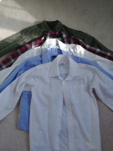 Boys shirts bundle size 8