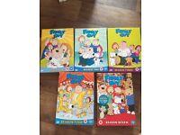 Family Guy DVD bundle