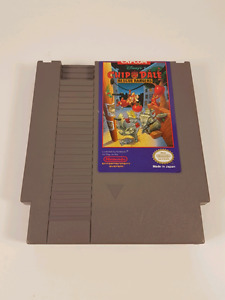 Chip and Dale Rescue Rangers NES