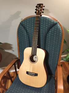 Cort Earth Travel Guitar, solid top