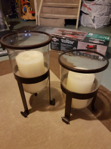 Floor Candle Pillar Holders