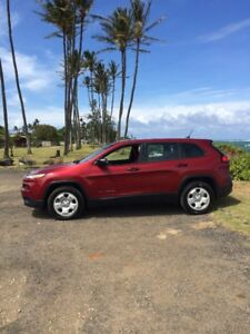 Hawaii-KAUAI  JEEP CHEROKEE FOR RENT