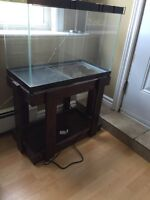24x13x17 tank and stand - includes top grate