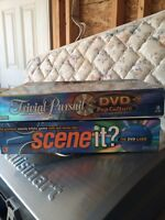 Trivial Pursuit and Scene it games