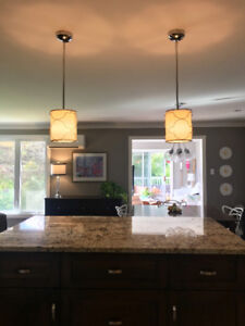 Matching Pendants from Living Lighting