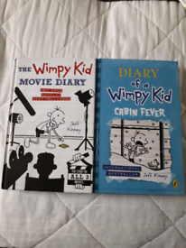 Diary of a Wimpy Kid Hardback and Paperback Books