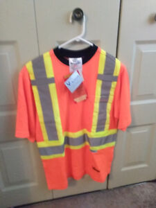 Men's Viking reflective work shirt