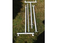 Ikea clothes rail sturdy metal