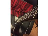 Left handed Stagg bass (really good condition)