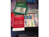 Social work books for sale