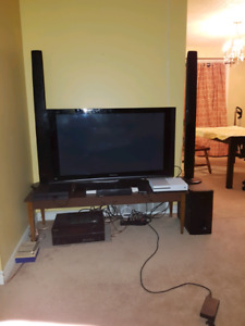 Samsung Home Theater Speaker System + subwoofer(still available)