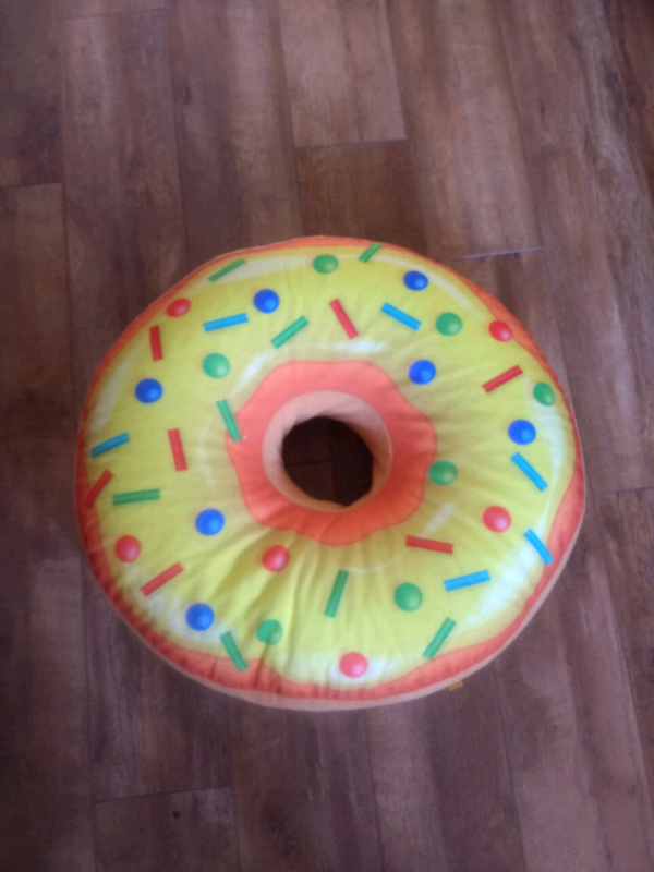 Wondrous Giant Donut Soft Toy Seat In Lisburn County Antrim Gumtree Caraccident5 Cool Chair Designs And Ideas Caraccident5Info