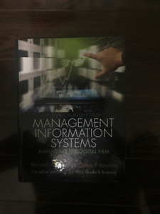 ITM 102Management Information Systems: Managing the Digital Firm