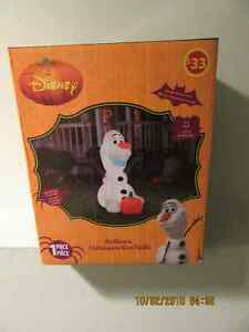 "NEW  ""HALLOWEEN"" 5 FOOT ""OLAF FROZEN"" INFLATABLE $15 Ancaster"