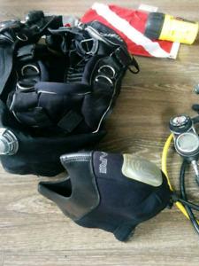 Equipement de plongee