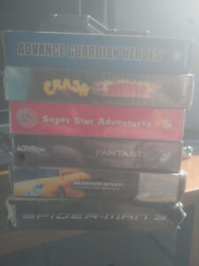 GBA player for GC + games - FF, Metroid, and cheap boxed stuff!