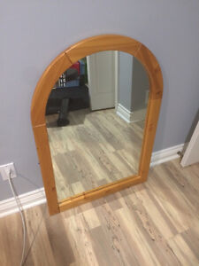 Solid Pine Frame Mirror - Made in Canada