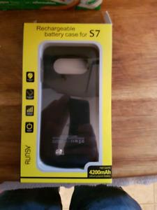 Battery charger phone case