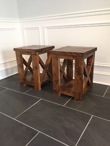 Two end tables/night stands