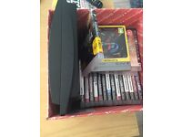 PS3 slim 160g with 25 games