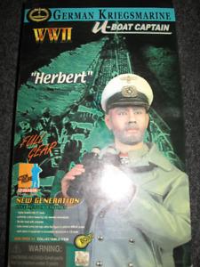 12'' Dragon Figure ''Herbert '' - U Boat Captain