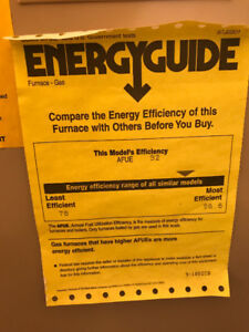 Lennox Elite Series Natural Gas Furnace $300.00 Or Best Offer