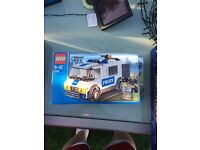 Lego city police truck 7245