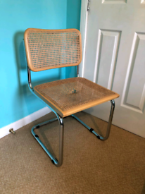 Vintage Marcel Breuer Fresca Steel Chair Made in Italy