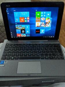 tablette et laptop  windows 10 asus