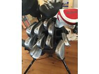 Full set golf clubs everything you will need!