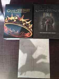 Game Of Thrones The Complete Season 1, 2 and 3 Blu-ray mint