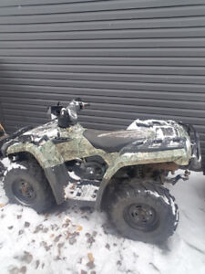 Can-Am Outlander with blade