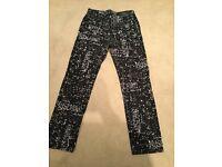 "Men's moshino pattern jeans. 32"" waist 34"" leg. £80 ono"