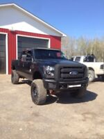 Lifted 2011 Ford F-250 6.7