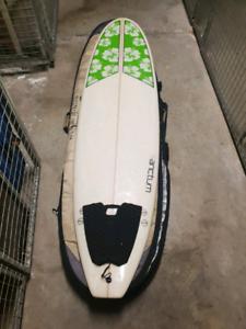 6'10 Mini Mal Surfboard Funboard