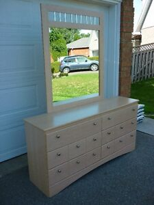 Dresser - Six Drawers and Mirror