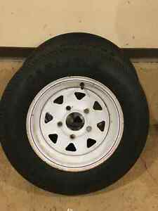 Trailer tires-5.30-12 Strathcona County Edmonton Area image 1
