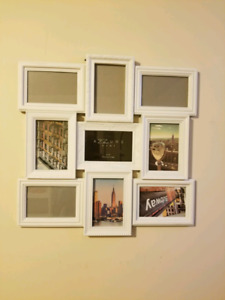 Picture frame collage nine 4x6