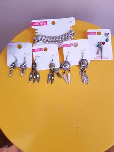 New ardene earnings and  bracelet