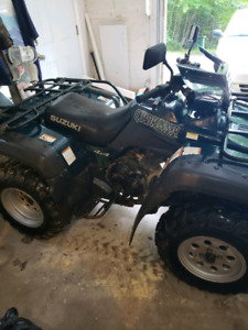 500 suzuki quadrunner tade for boat