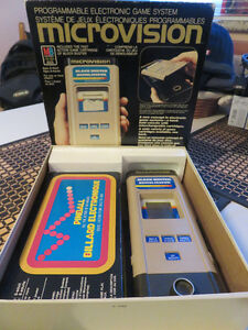 microvision electronic game system