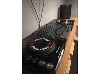 Pioneer cdj mk31000 full dj set up