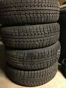 Michelin X-ice Winter Tires 175/65/14 West Island Greater Montréal image 1