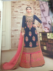 Indian suits cotton (summer-wear) & sharara (party, wedding)