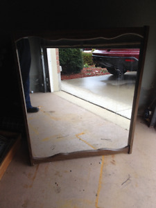 2 Larger Wall Mounted Mirrors - Nice Reflective Glass - Both $25