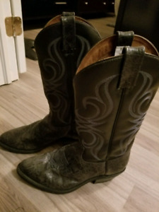 Authentic cowboy boots from Calgary
