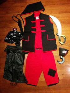 Costume d'Halloween de pirate pour enfants
