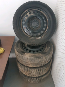 Michelin winter tires with rims 225 55 r17